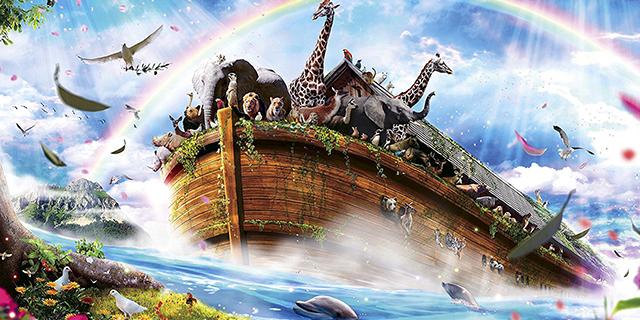 エイプリルフール ノアの箱舟