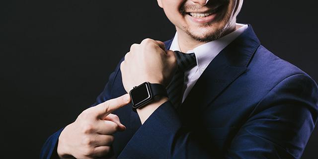 入社式 時計