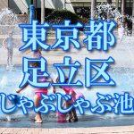東京都内 足立区 じゃぶじゃぶ池おすすめ人気スポット・公園2019 子供の水遊び