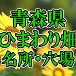青森県(東北)のひまわり畑 オススメ人気スポット/名所/穴場・2018年イベント情報