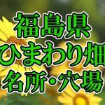 福島県(東北)のひまわり畑 オススメ人気スポット/名所/穴場・2018年イベント情報
