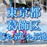 東京都内 葛飾区 じゃぶじゃぶ池おすすめ人気スポット・公園2018 子供の水遊び 噴水