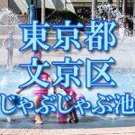 東京都内 文京区 じゃぶじゃぶ池おすすめ人気スポット・公園2018 子供の水遊び 噴水