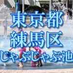 東京都内 練馬区 じゃぶじゃぶ池おすすめ人気スポット・公園2018 子供の水遊び