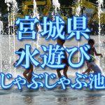 宮城県(東北)の子供が水遊びできるじゃぶじゃぶ池・公園・噴水おすすめ人気スポット2018