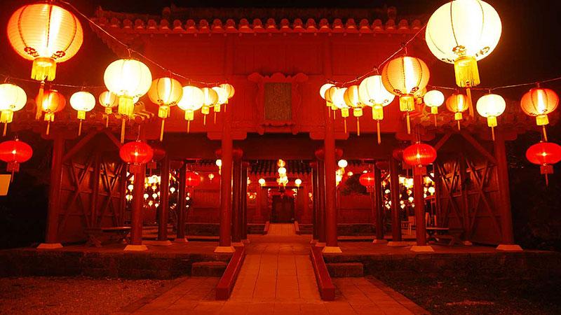 体験王国むら咲むら 琉球ランタンフェスティバル