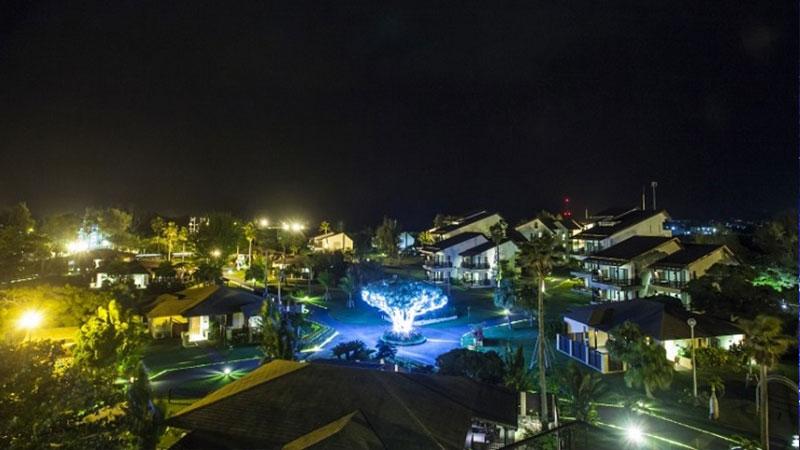 オクマ プライベートビーチ & リゾート イルミネーション